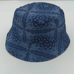 כובע טמבל בנדנה כחולה