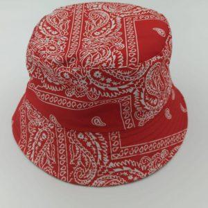 כובע טמבל בנדנות אדום