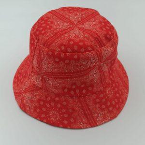 כובע טמבל בנדנה אדום