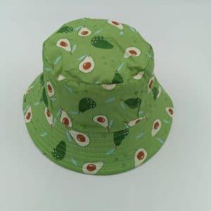 כובע טמבל אבוקדו רקע ירוק