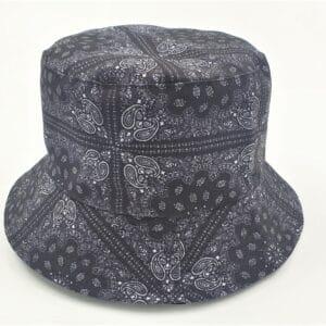 כובע טמבל בנדנה שחורה