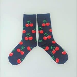 גרביים  דובדבנים אדומים