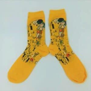 גרביים  הנשיקה הצהובה