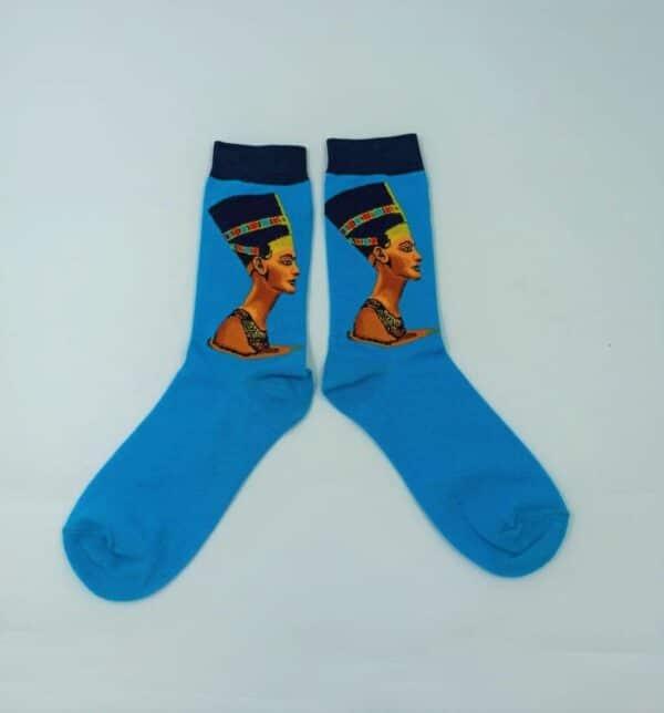 גרביים מעוצבות נפרטיטי