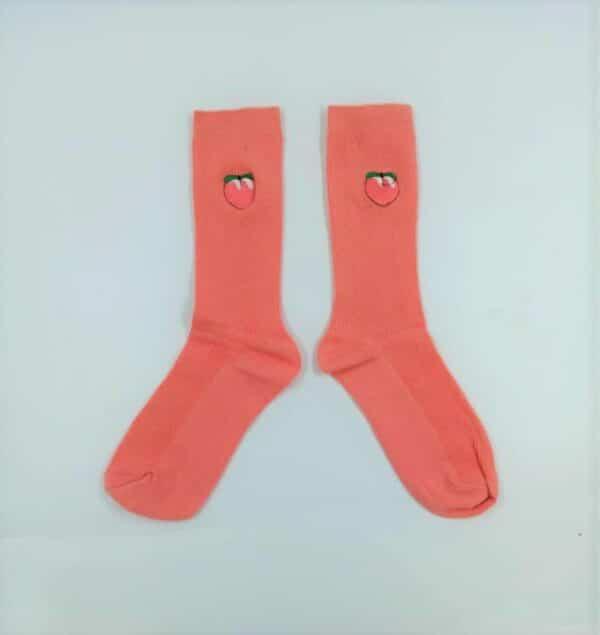 גרביים מעוצבות אפרסק